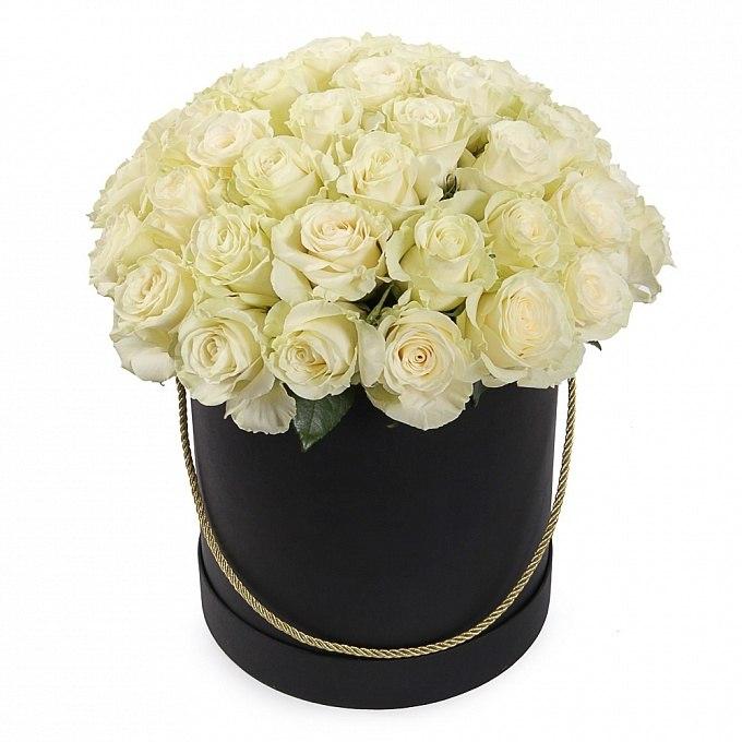 kutuda 25 adet pembe gül Kutuda Beyaz Güller