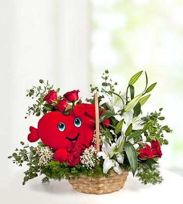 27 kırmızı gül buket Kalbim Seninle